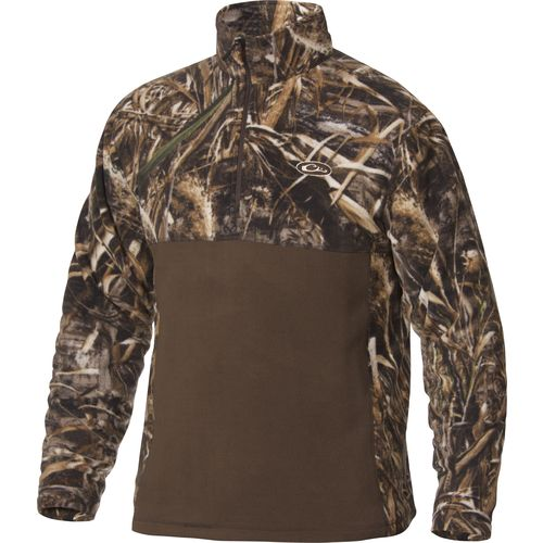 Drake Waterfowl Men's 2-Tone Camo Camp Fleece