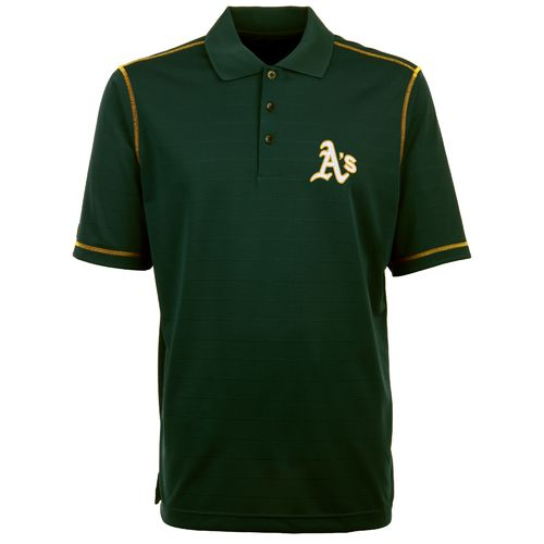 Antigua Men's Oakland Athletics Icon Piqué Polo Shirt