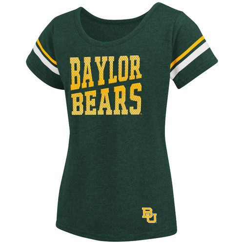 Colosseum Athletics™ Girls' Baylor University Fading Dot T-shirt