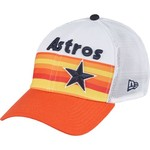 New Era Men's Houston Astros Rainbow Mesh 39THIRTY Cap