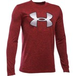 Under Armour® Boys' Tech Novelty Big Logo Long Sleeve T-shirt