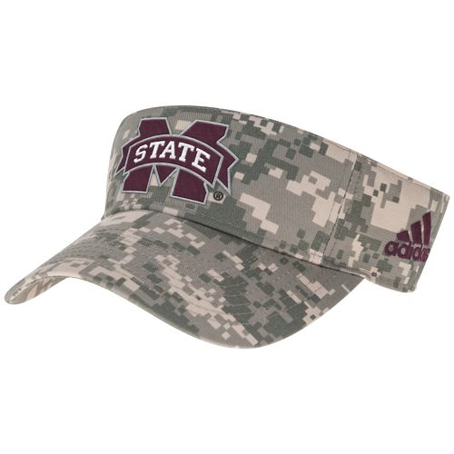 adidas™ Men's Mississippi State University Digital Camo Visor