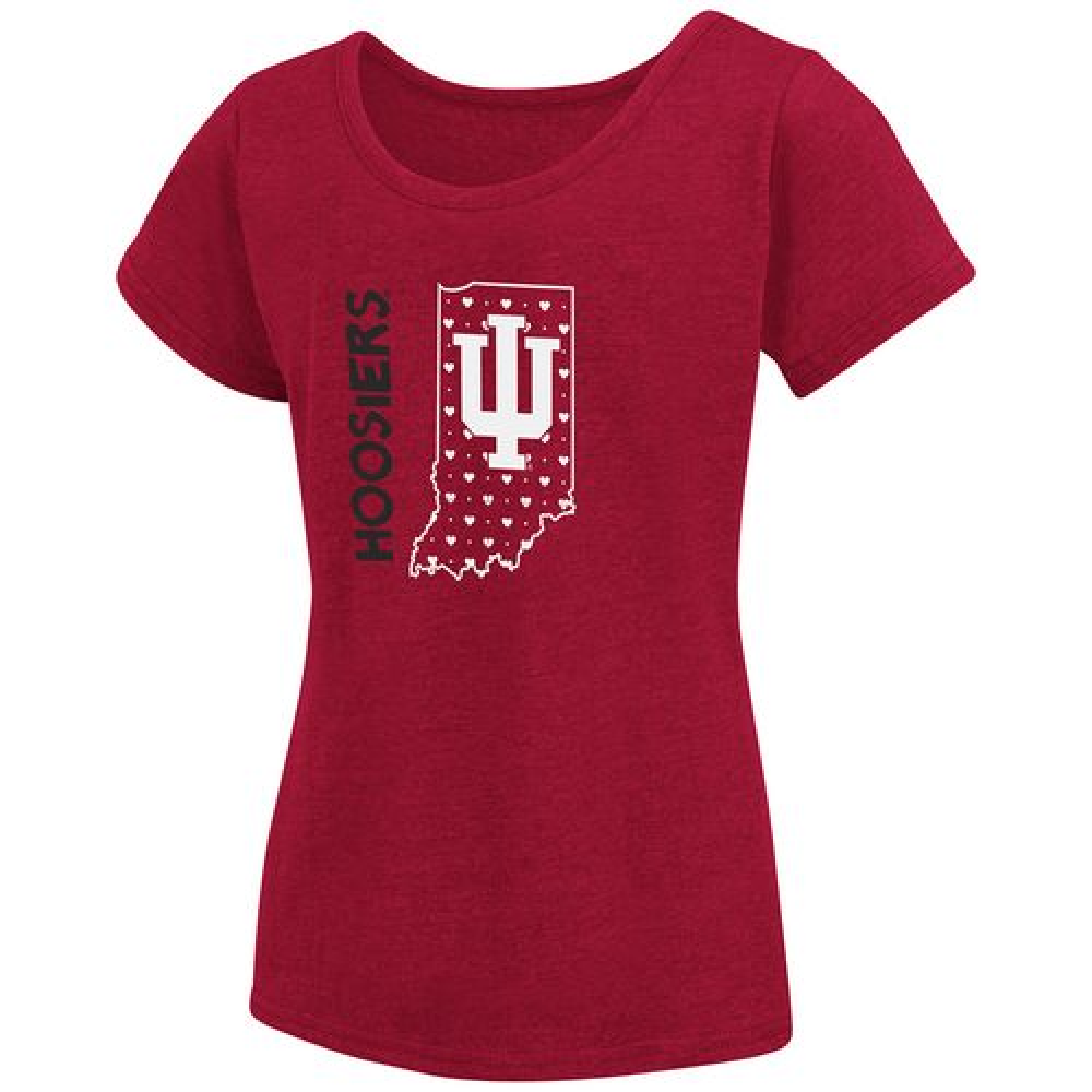 Colosseum Athletics Girls' Indiana University T-shirt