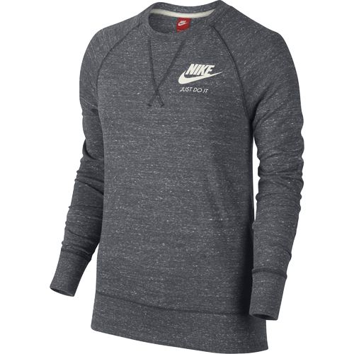 Nike™ Women's Gym Vintage Just Do It Long Sleeve Crew