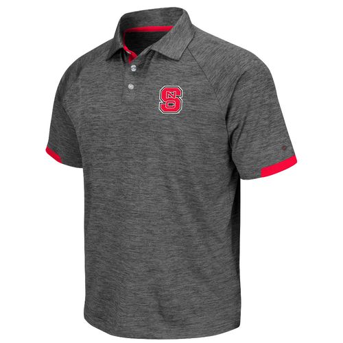 Colosseum Athletics Men's North Carolina State University Spiral Polo Shirt