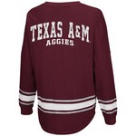 Colosseum Athletics™ Women's Texas A&M University My Boyfriend Varsity Pullover