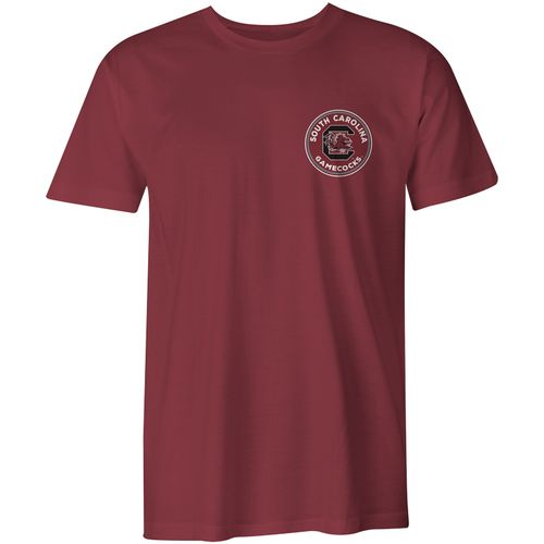 Image One Men's University of South Carolina Rounds Comfort Color T-shirt - view number 2