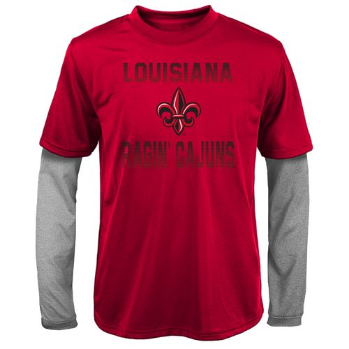 Gen2 Kids' University of Louisiana at Lafayette Bleachers Double Layer Long Sleeve T-shirt