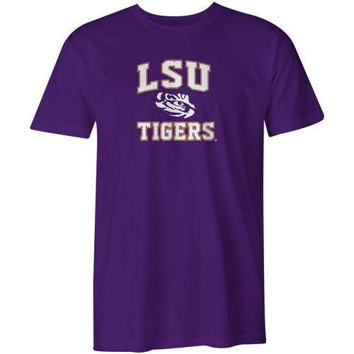 Image One Boys' Louisiana State University Arch Logo Comfort Color T-shirt