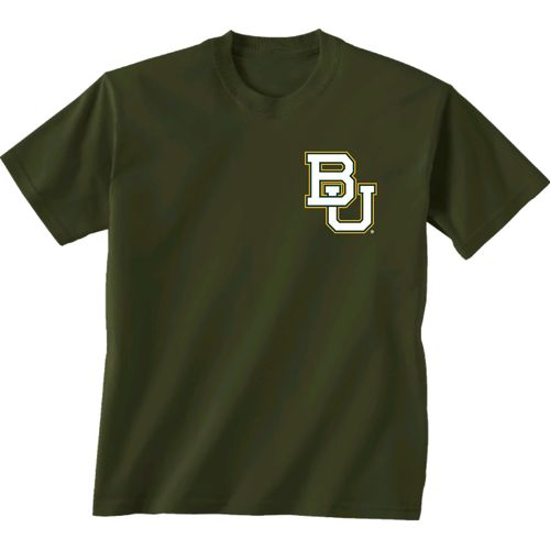 New World Graphics Women's Baylor University Madras T-shirt - view number 2