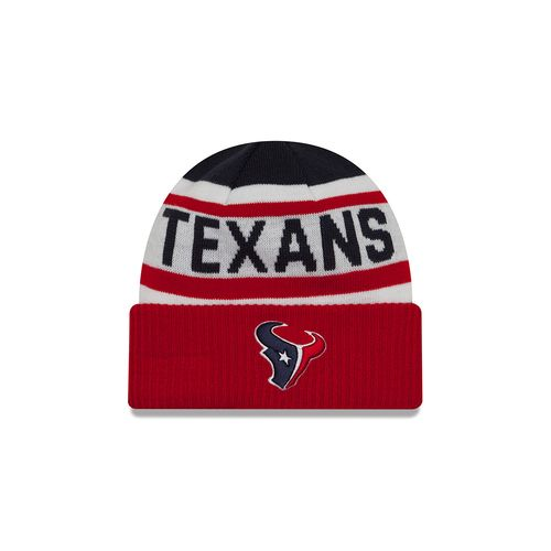 New Era Men's Houston Texans Biggest Fan Knit Cap