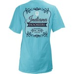 Three Squared Juniors' Indiana University Flora T-shirt