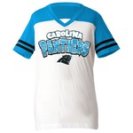 5th & Ocean Clothing Girls' Carolina Panthers Fan T-shirt