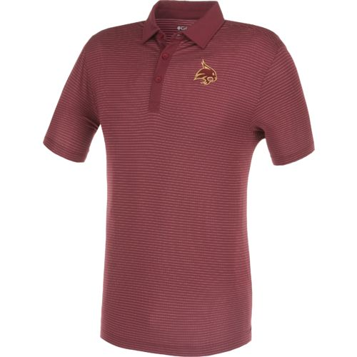 Columbia Sportswear Men's Texas State University Omni-Wick Sunday Polo Shirt