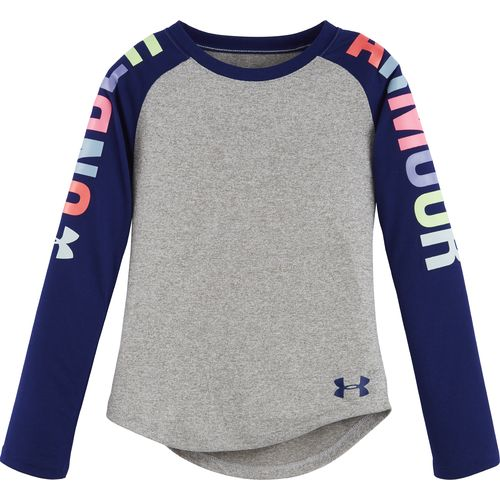 Under Armour™ Girls' Favorites Raglan Long Sleeve T-shirt