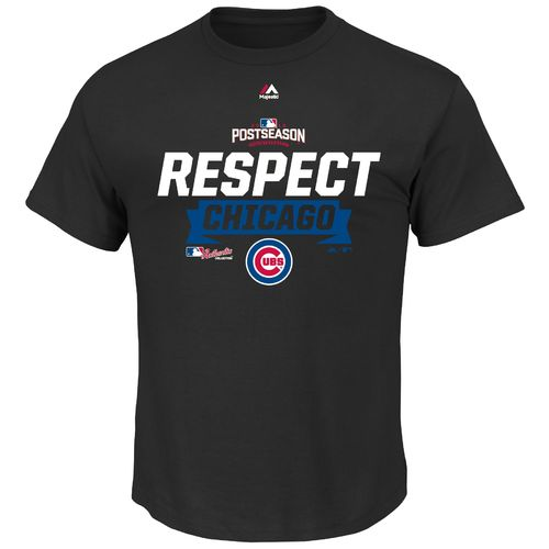 Majestic Men's Chicago Cubs NLDS Champions Locker Room T-shirt