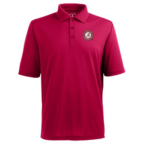 Antigua Men's University of Alabama Piqué Xtra Lite Polo Shirt