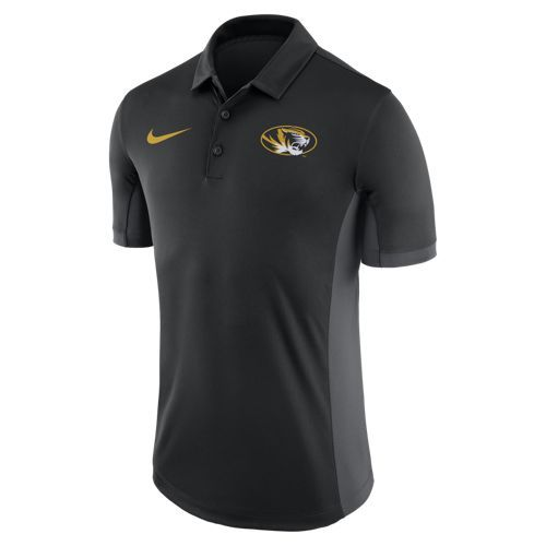 Nike™ Men's University of Missouri Dri-FIT Evergreen Polo Shirt - view number 1