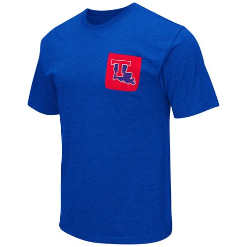 Colosseum Athletics™ Men's Louisiana Tech University Banya Pocket T-shirt