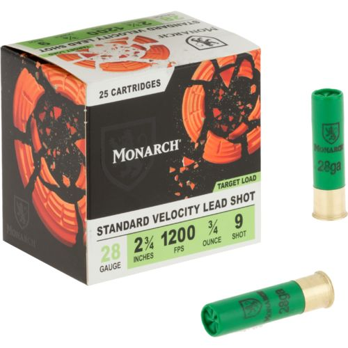 Monarch® Target Loads 28 Gauge Shotshells