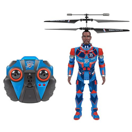 World Tech Toys Oklahoma City Thunder Kevin Durant Robojam RC Helicopter