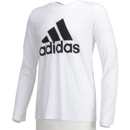 Display product reviews for adidas Men's Badge of Sport Long Sleeve Fitted Top
