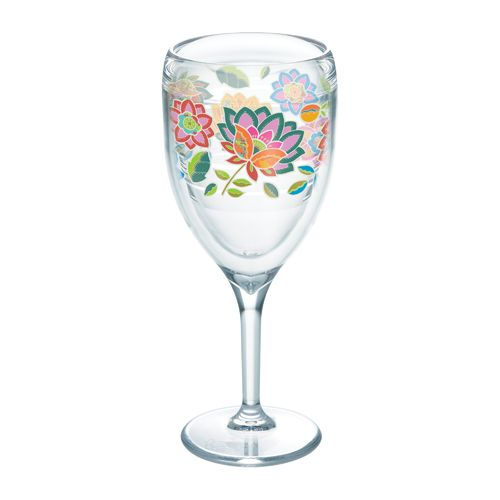 Tervis Boho Chic 9 oz. Wine Glass