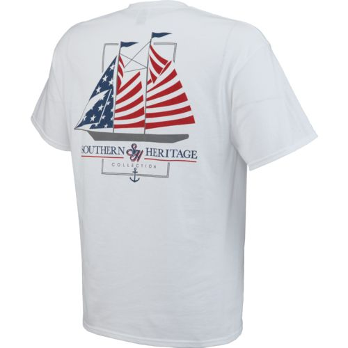 Southern Heritage Men's America Sail T-shirt - view number 2