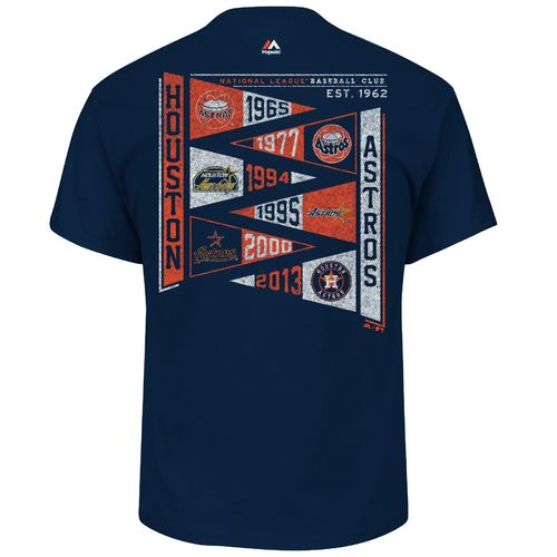 Display product reviews for Majestic Men's Houston Astros Wave the Pennant T-shirt