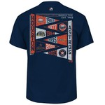 Majestic Men's Houston Astros Wave the Pennant T-shirt - view number 1