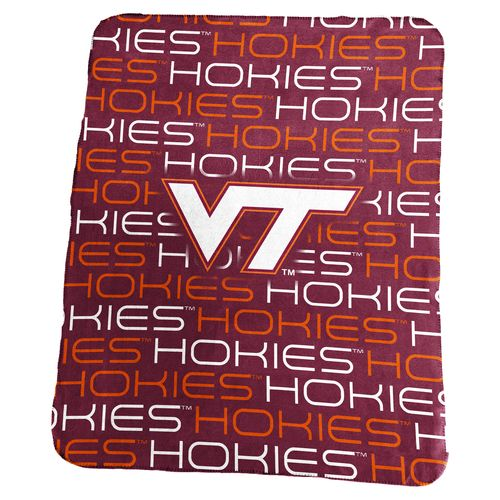 Logo Virginia Tech 50 in x 60 in Classic Fleece Blanket