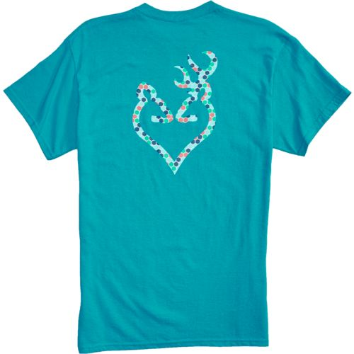 Browning Women's Hexagon Buckmark T-shirt - view number 3