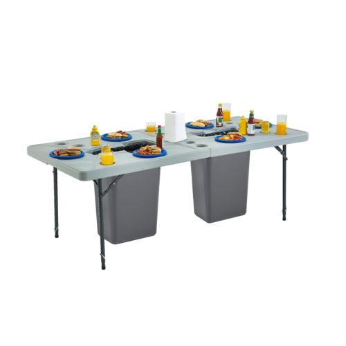 Academy Sports + Outdoors 7 ft Folding Cookout Table - view number 6