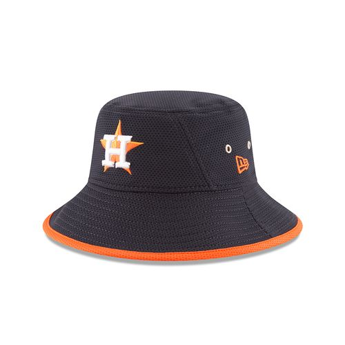 New Era Men's Houston Astros Team Bucket 3 Stretch Bucket Hat