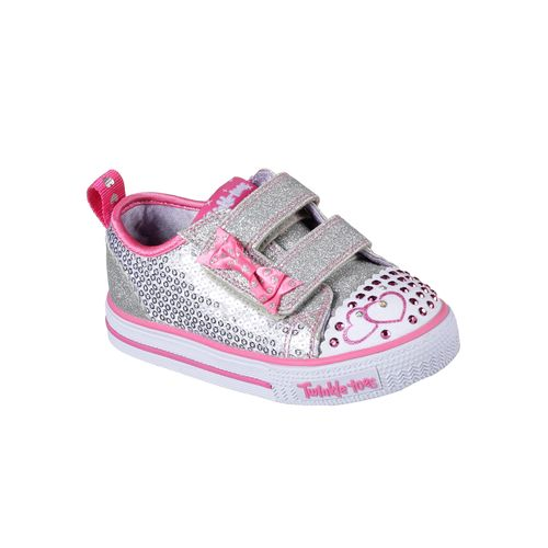 SKECHERS Toddlers' Twinkle Toes Shuffles Itsy Bitsy Casual Shoes - view number 2