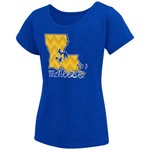Colosseum Athletics™ Girls' McNeese State University Tissue 2017 T-shirt - view number 1