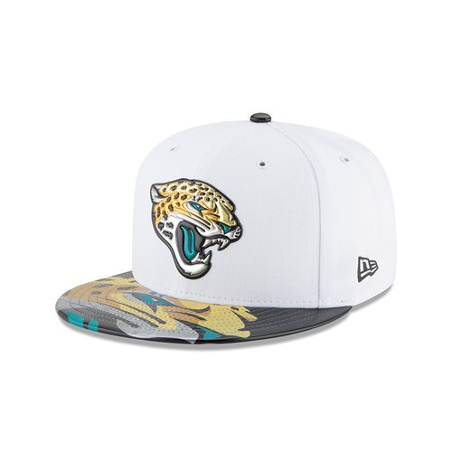 New Era Men's Jacksonville Jaguars 59FIFTY NFL17 Official On Stage Cap
