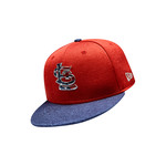 New Era Men's St. Louis Cardinals Stars and Stripes 2T '17 59FIFTY Cap - view number 7