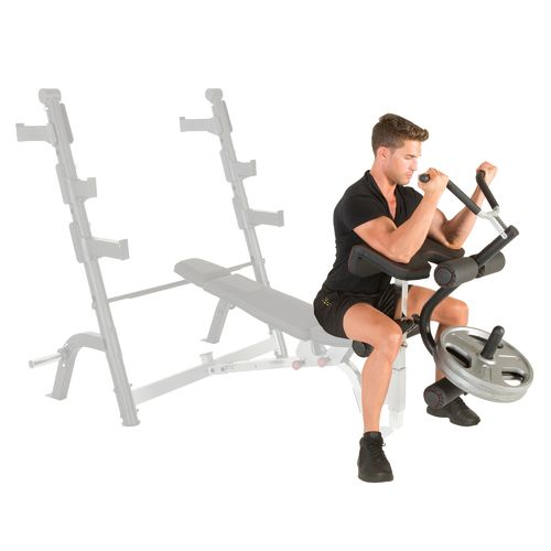 Fitness Reality X-Class Olympic Preacher Curl and Leg Developer Attachment - view number 8