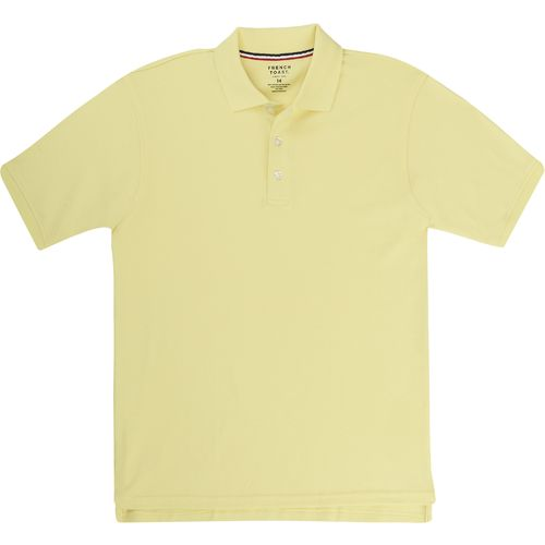 Display product reviews for French Toast Boys' Short Sleeve Interlock Knit Polo Shirt
