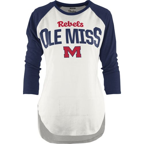 Three Squared Juniors' University of Mississippi Quin T-shirt
