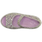 Crocs Girls' Isabella Glitter Flats - view number 3