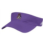 adidas Men's East Carolina University Coach Adjustable Visor - view number 1