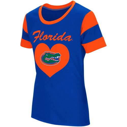 Colosseum Athletics Girls' University of Florida Bronze Medal Short Sleeve T-shirt - view number 1