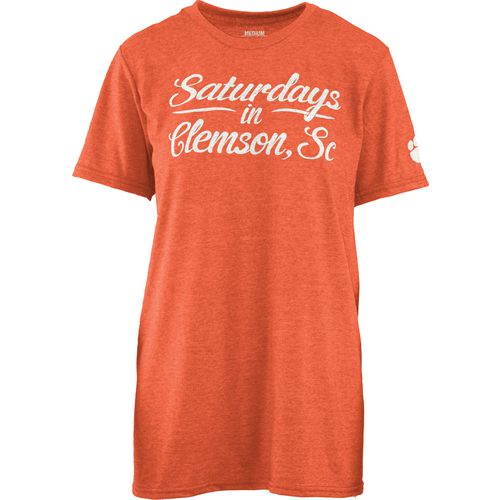 Three Squared Juniors' Clemson University Saturday T-shirt