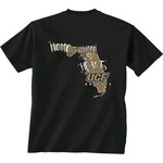 New World Graphics Girls' University of Central Florida Where the Heart Is Short Sleeve T-shirt - view number 1