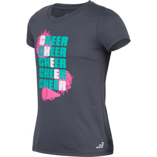 BCG Girls' Cheer Graphic Short Sleeve T-shirt - view number 3