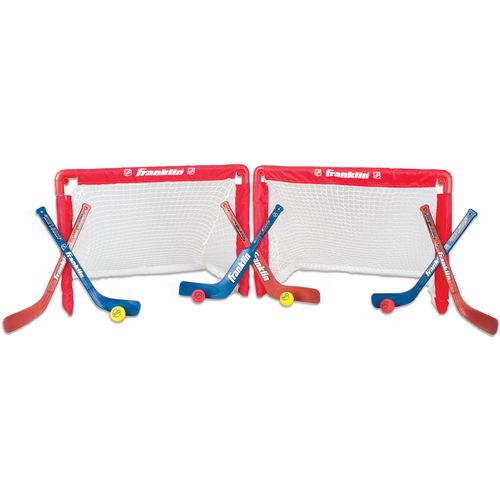 Franklin NHL Mini Folding 2-Goal Combo Set