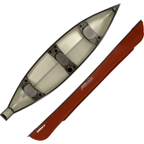 Sun Dolphin Mackinaw 15.6 ft 3-Person Square-Stern Canoe