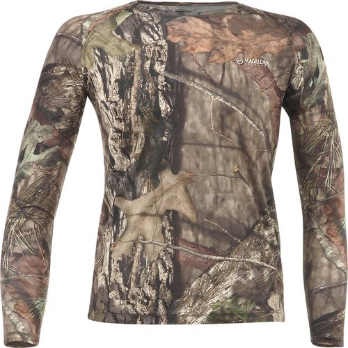 Magellan Outdoors Men's Eagle Pass Long Sleeve Mesh Shirt